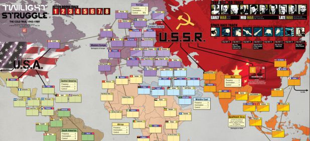 Twilight Struggle (Strategie) von