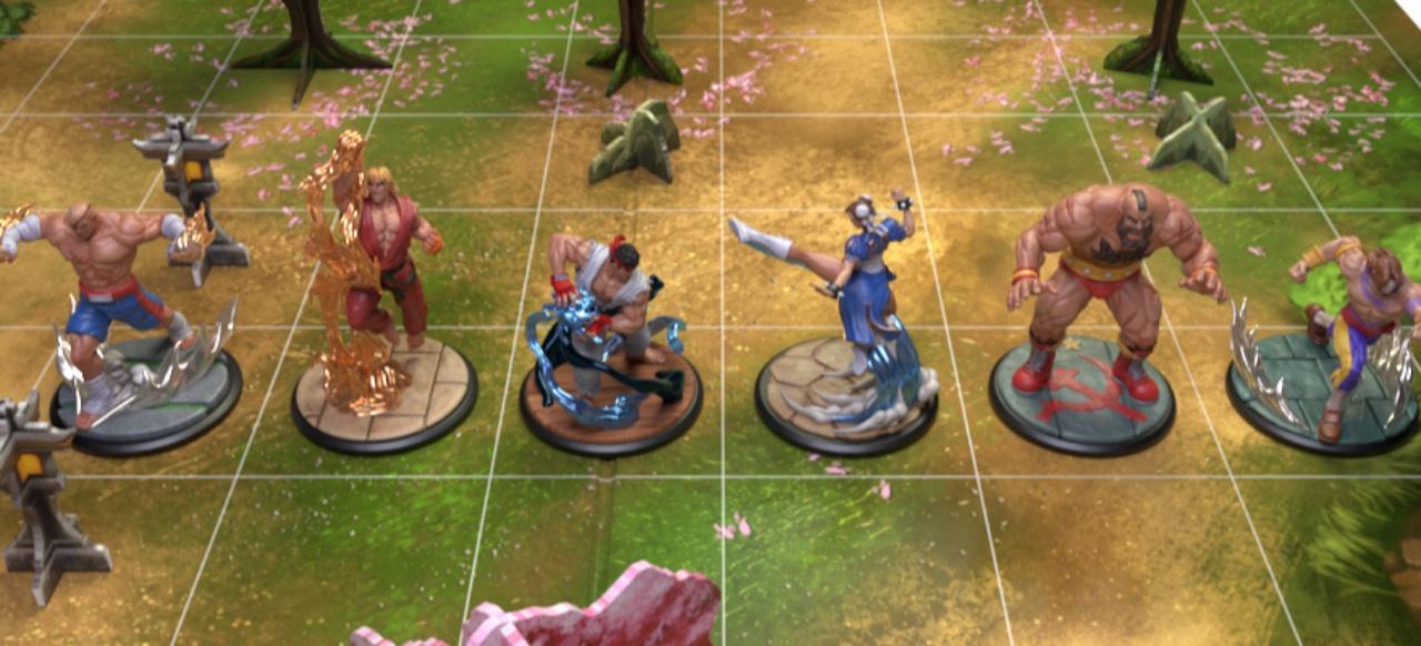 Street Fighter: The Miniatures Game (Brettspiel) von Jasco Games und Angry Joe