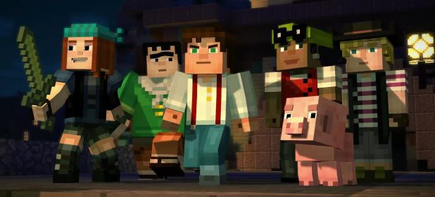 Minecraft: Story Mode - Episode 1: Der Orden des Steins (Adventure) von Telltale Games