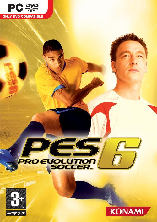 Download Pro Evolution Soccer (PES) 6 Full RIP (357 Mb) + Update Pemain Juli 2015