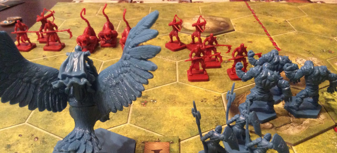 Battlelore - Zweite Edition (Brettspiel) von Heidelberger Spieleverlag