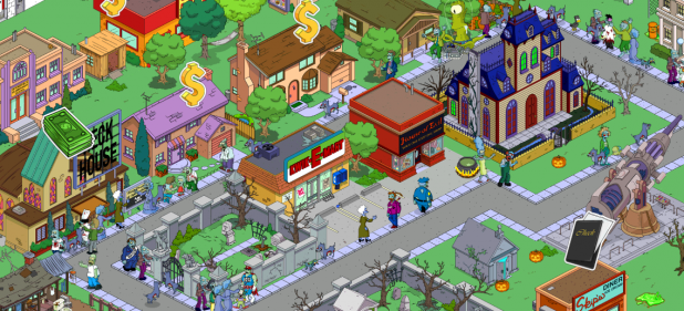 Die Simpsons Springfield (Strategie) von EA