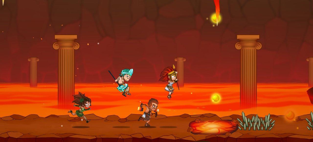 Running Gods (Geschicklichkeit) von Midnight Games