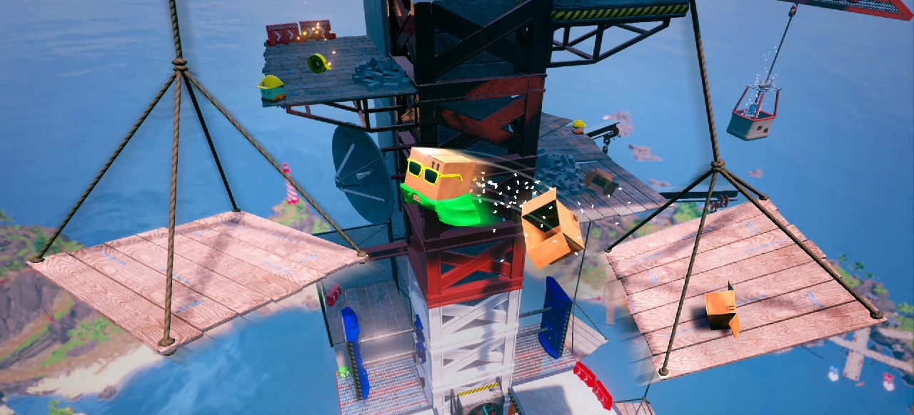 Unbox: Newbie's Adventure (Geschicklichkeit) von Prospect Games / Merge Games