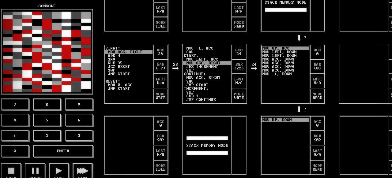 TIS-100 (Geschicklichkeit) von Zachtronics Industries