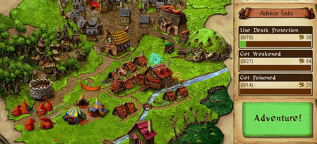 Desktop Dungeons (Rollenspiel) von QCF Design / Finji