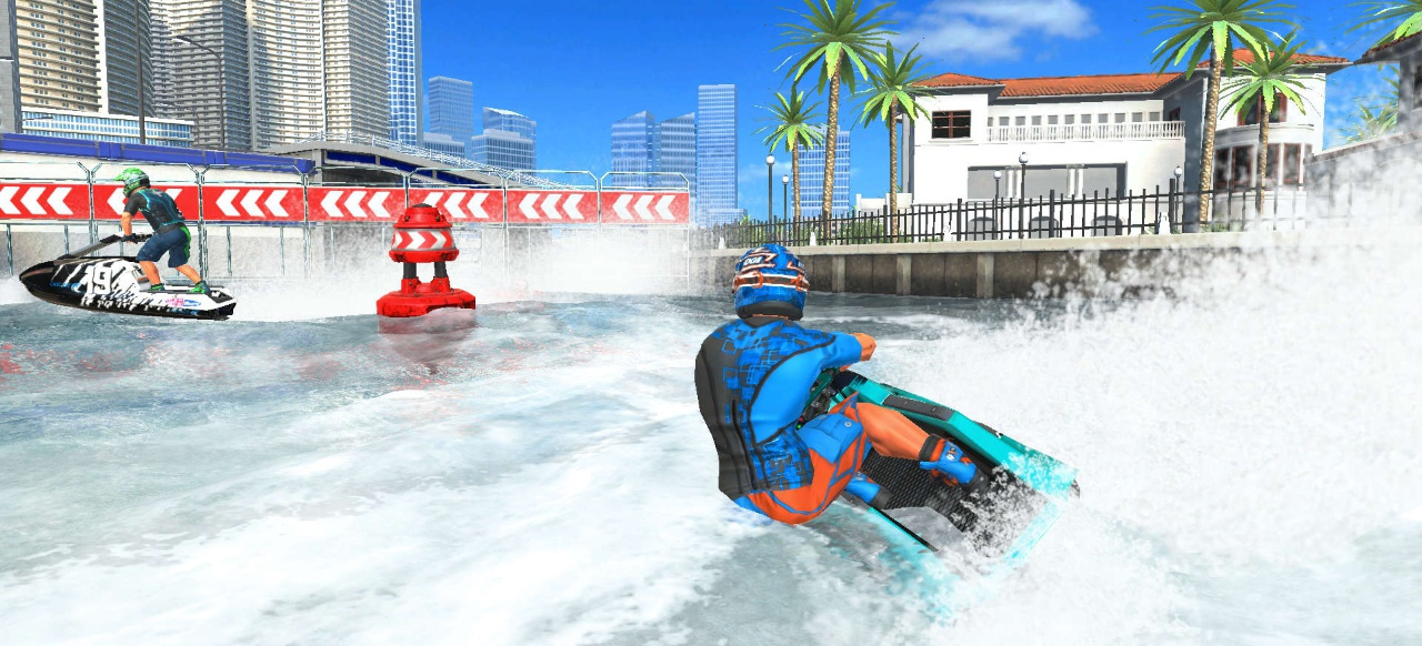 Aqua Moto Racing Utopia (Rennspiel) von Bigben Interactive (Switch)