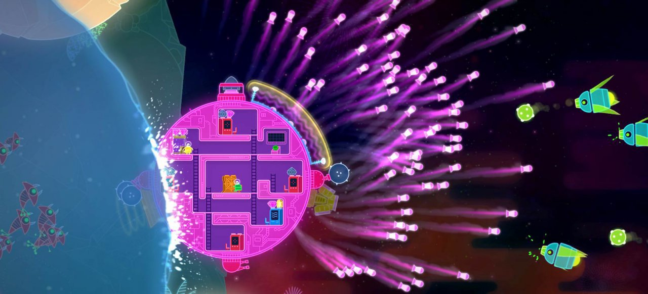 Lovers in a Dangerous Spacetime (Action) von Asteroid Base