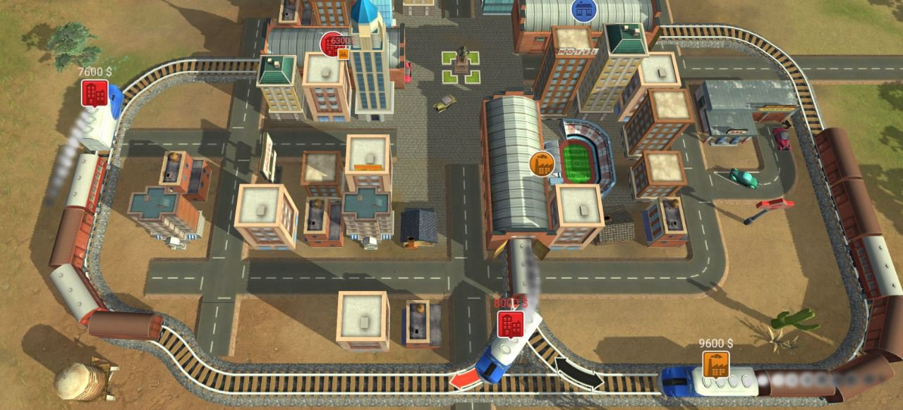 Train Valley (Geschicklichkeit) von Flazm Interactive Entertainment/Oroboro Games