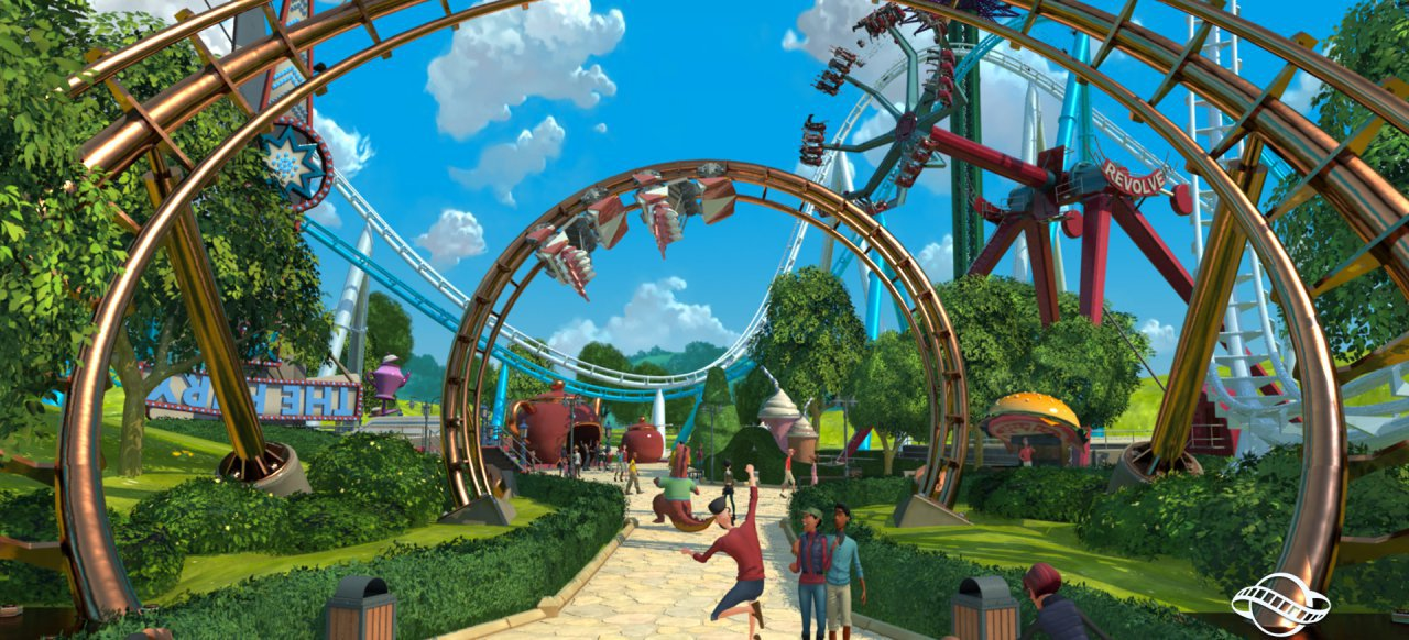 Planet Coaster (Strategie) von Frontier Developments