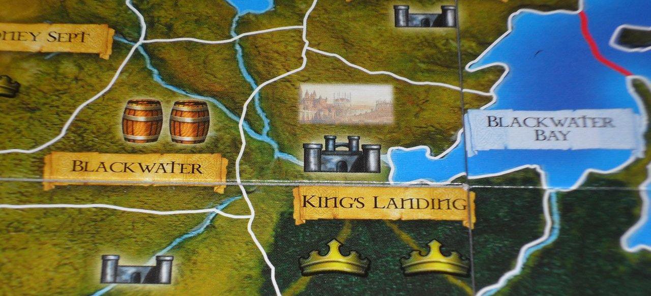 Der Eiserne Thron (Brettspiel) von Heidelberger Spielverlag