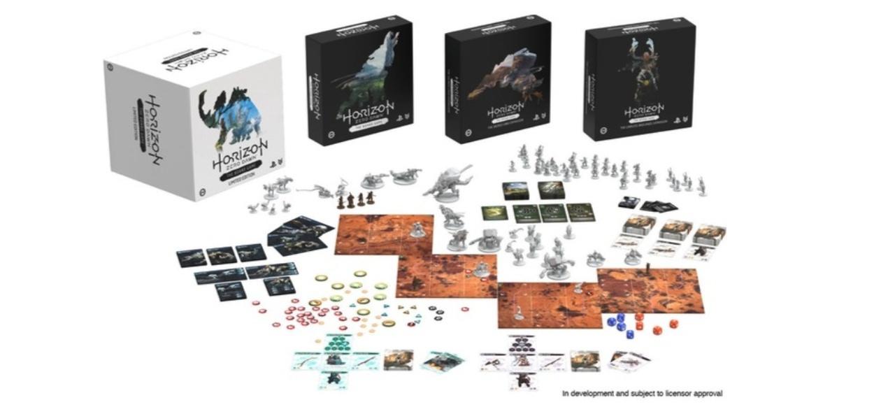 Horizon Zero Dawn: The Board Game (Brettspiel) von Steamforged Games Ltd