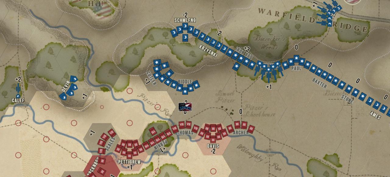 Gettysburg: The Tide Turns (Strategie) von Slitherine