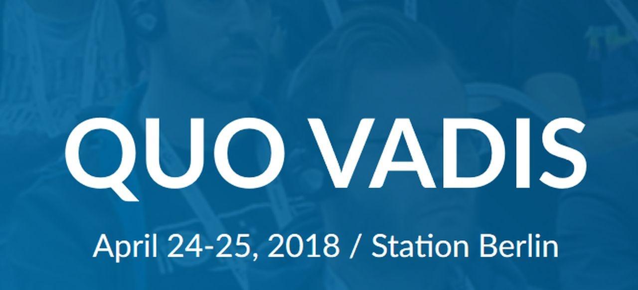 Quo Vadis 2018 (Events) von CMG Conferences