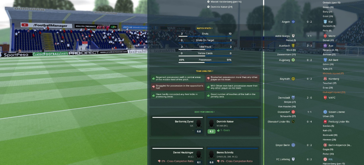 Football Manager 2018 (Simulation) von SEGA
