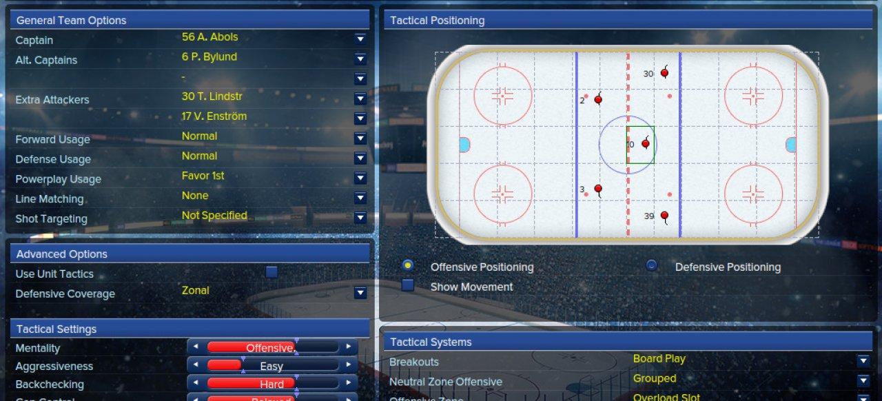 Eastside Hockey Manager (Sport) von SEGA