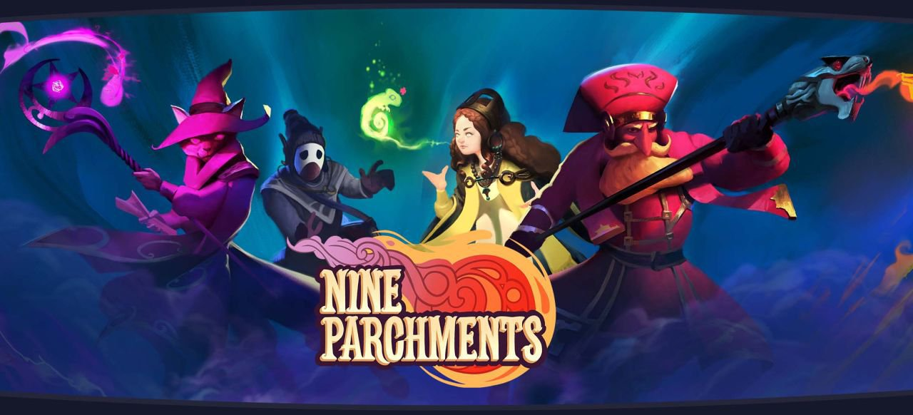 Nine Parchments (Action) von Frozen Byte