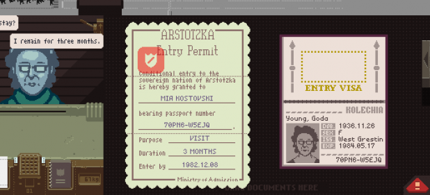 Papers, Please (Adventure) von Lucas Pope