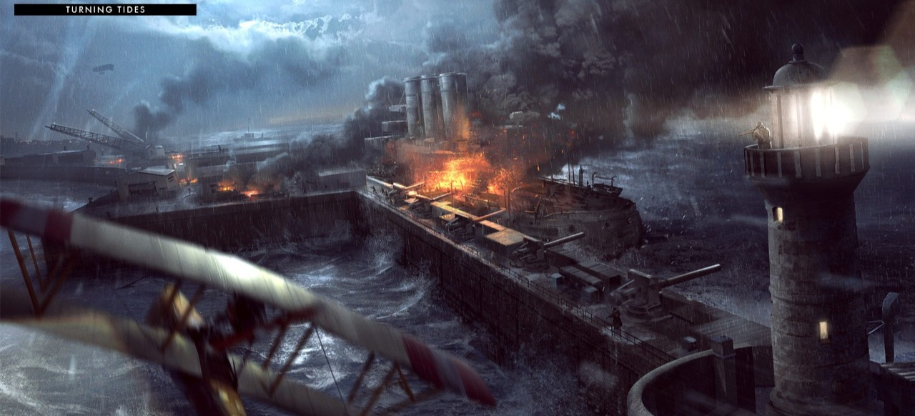 Battlefield 1: Turning Tides (Shooter) von Electronic Arts