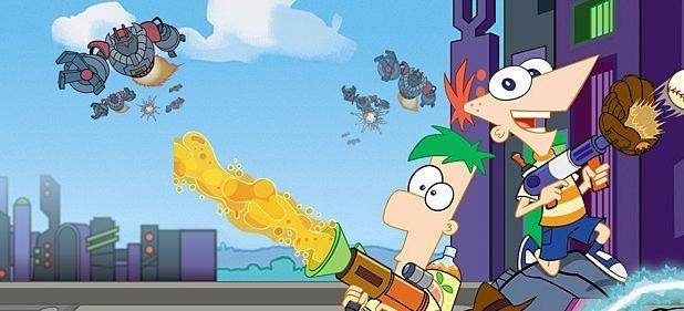 Phineas und Ferb: Quer durch die 2. Dimension (Action) von Disney Interactive Studios