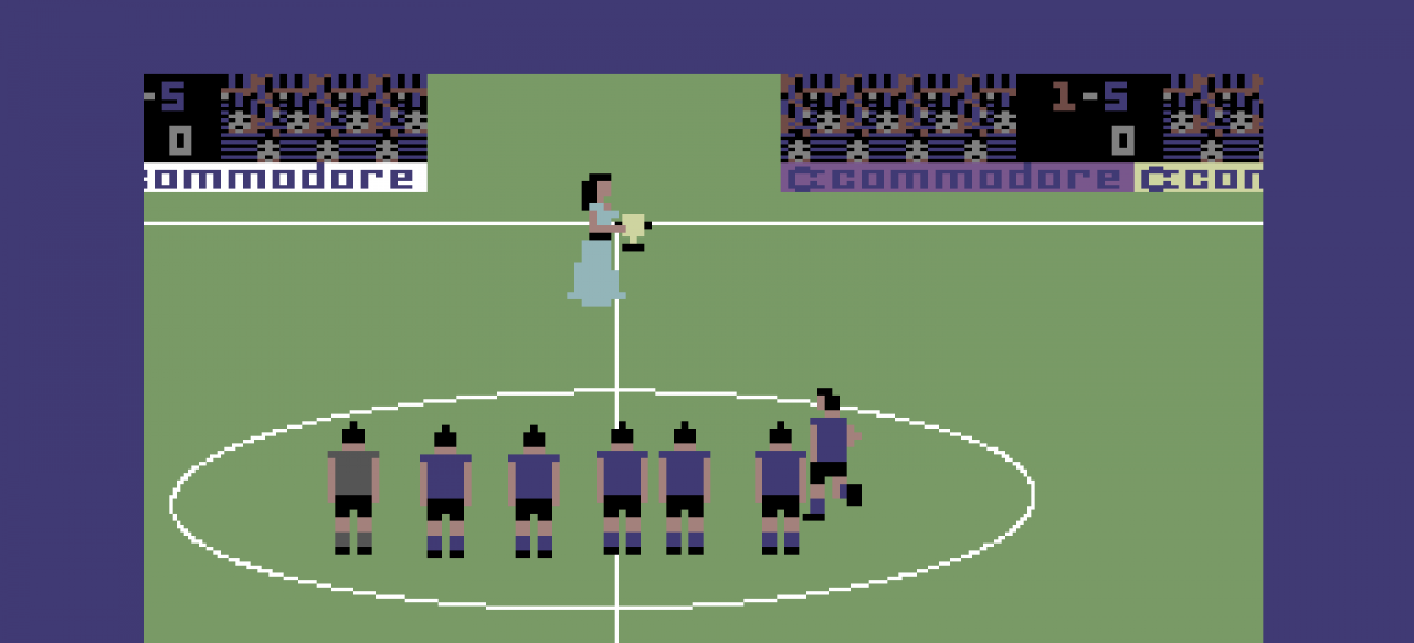 International Soccer (Sport) von Commodore Electronics Ltd.