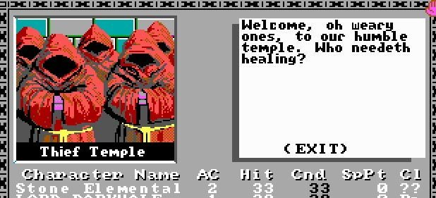 The Bard's Tale (Oldie) (Rollenspiel) von Electronic Arts