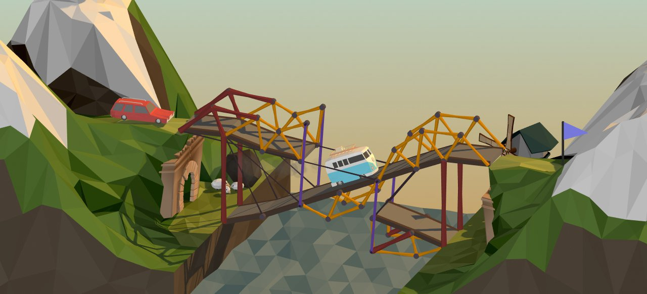 Poly Bridge (Simulation) von