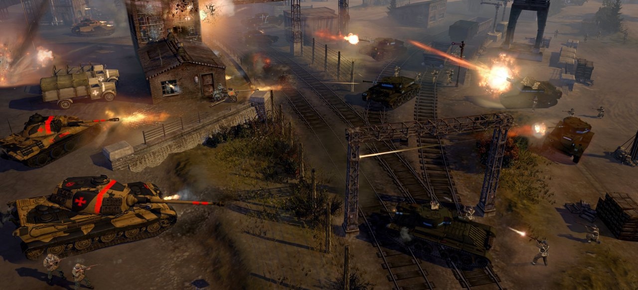 Company of Heroes 2: The British Forces (Strategie) von SEGA