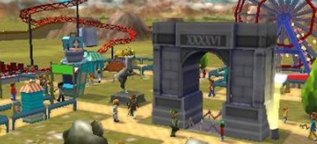 Rollercoaster Tycoon 3D (Simulation) von Namco Bandai Games