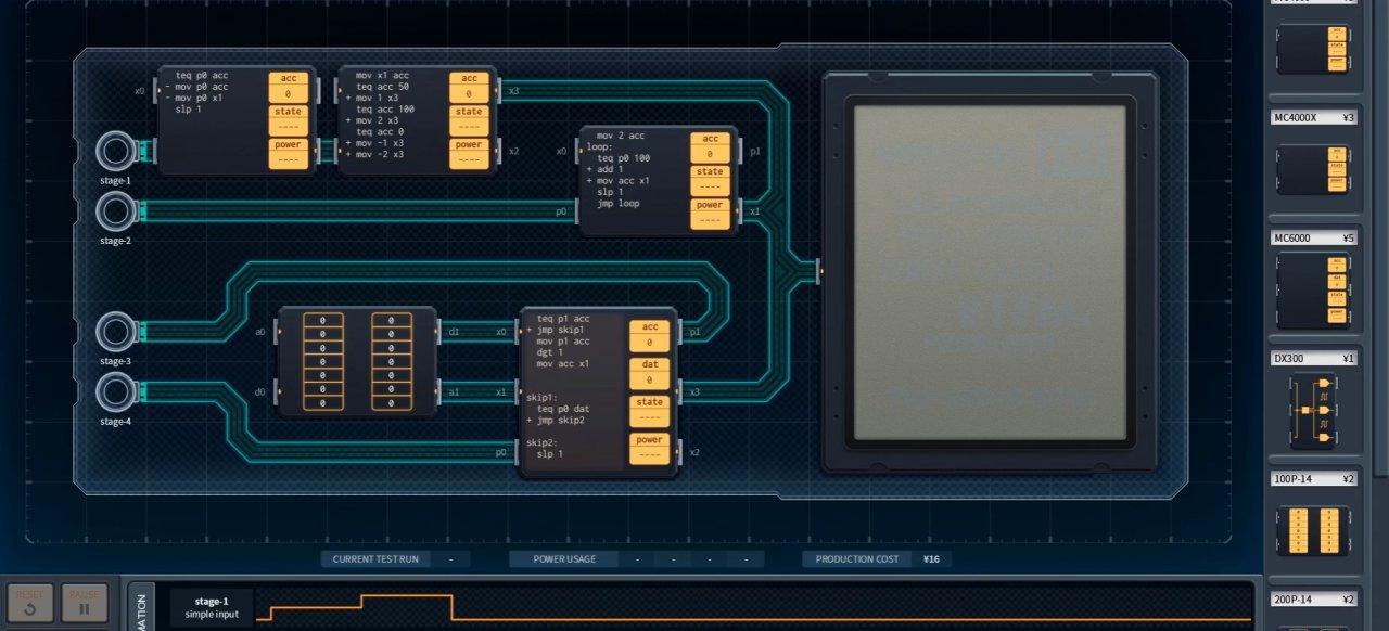 Shenzhen I/O (Geschicklichkeit) von Zachtronics