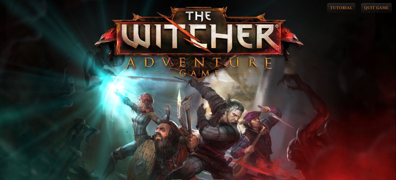 The Witcher Adventure Game (Strategie) von CD Project Red/ Fantasy Flight Games