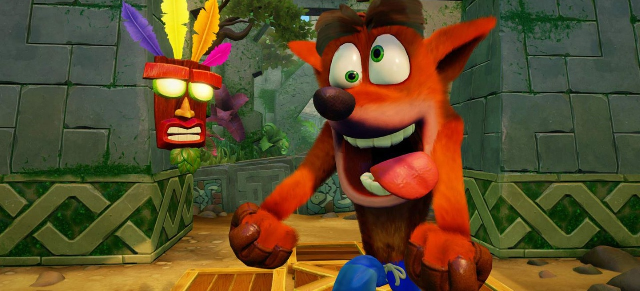 crash bandicoot spielen