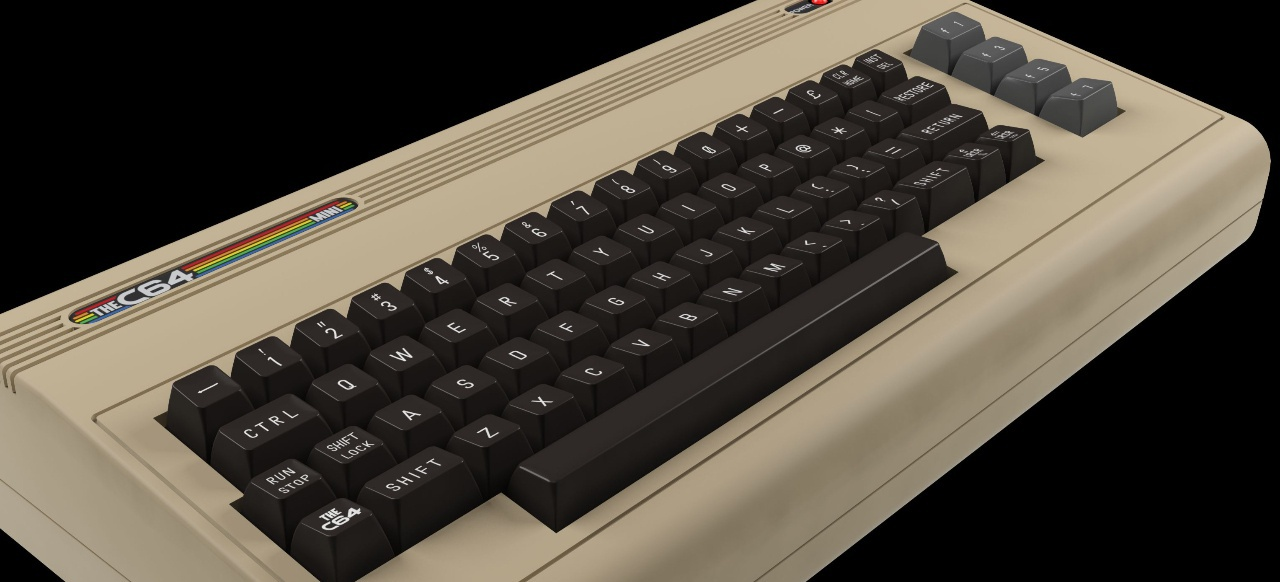 The C64 Mini (Hardware) von Koch Media