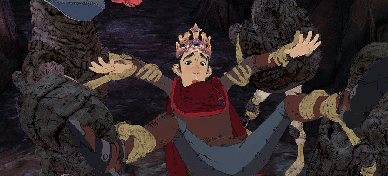 King's Quest: Stein oder nicht Stein (Adventure) von Sierra Games