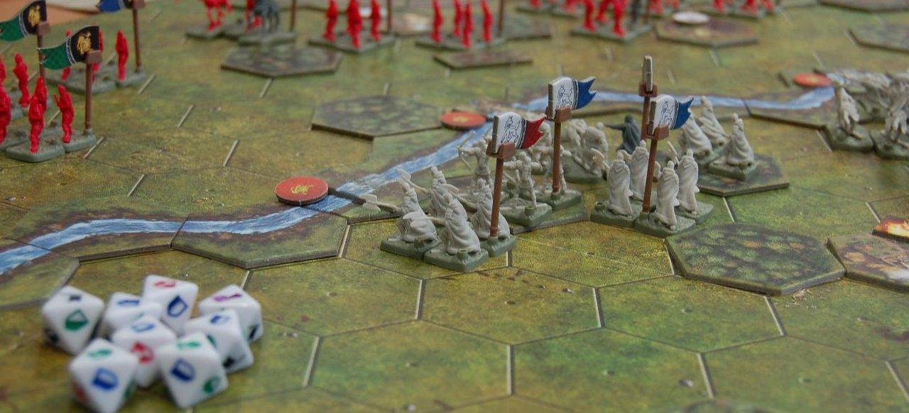 Die Schlachten von Westeros (Brettspiel) von Heidelberger Spielverlag
