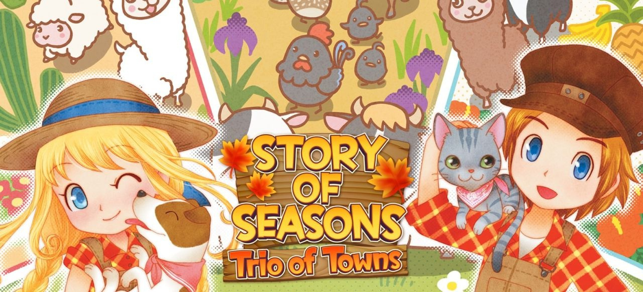 Story of Seasons: Trio of Towns (Simulation) von XSEED Games