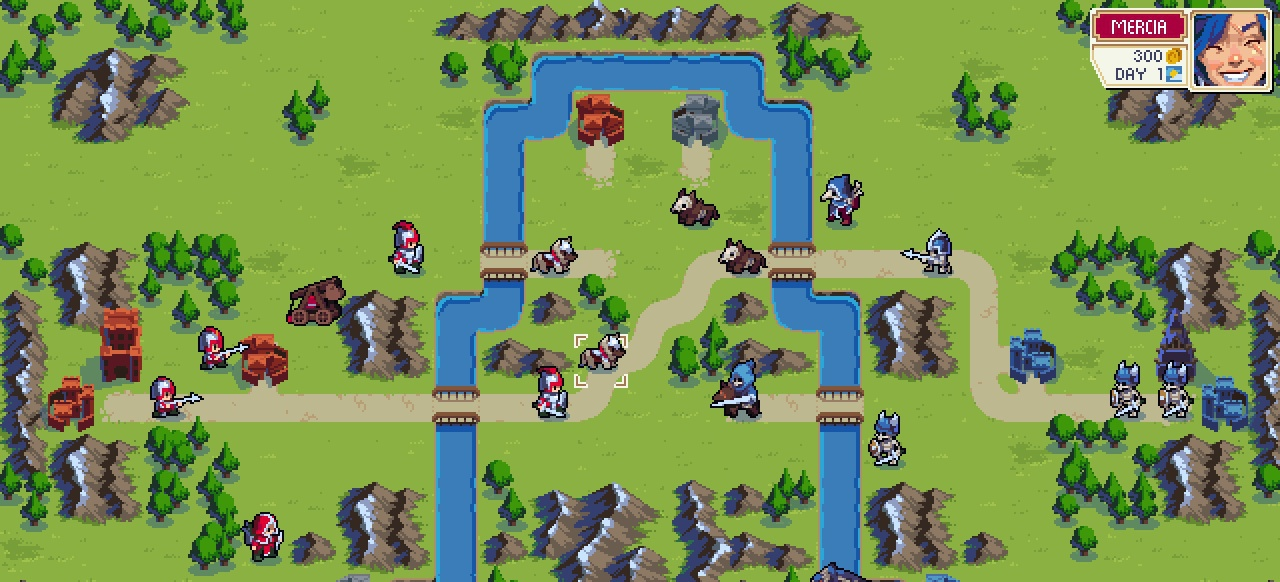 Wargroove (Strategie) von Nintendo