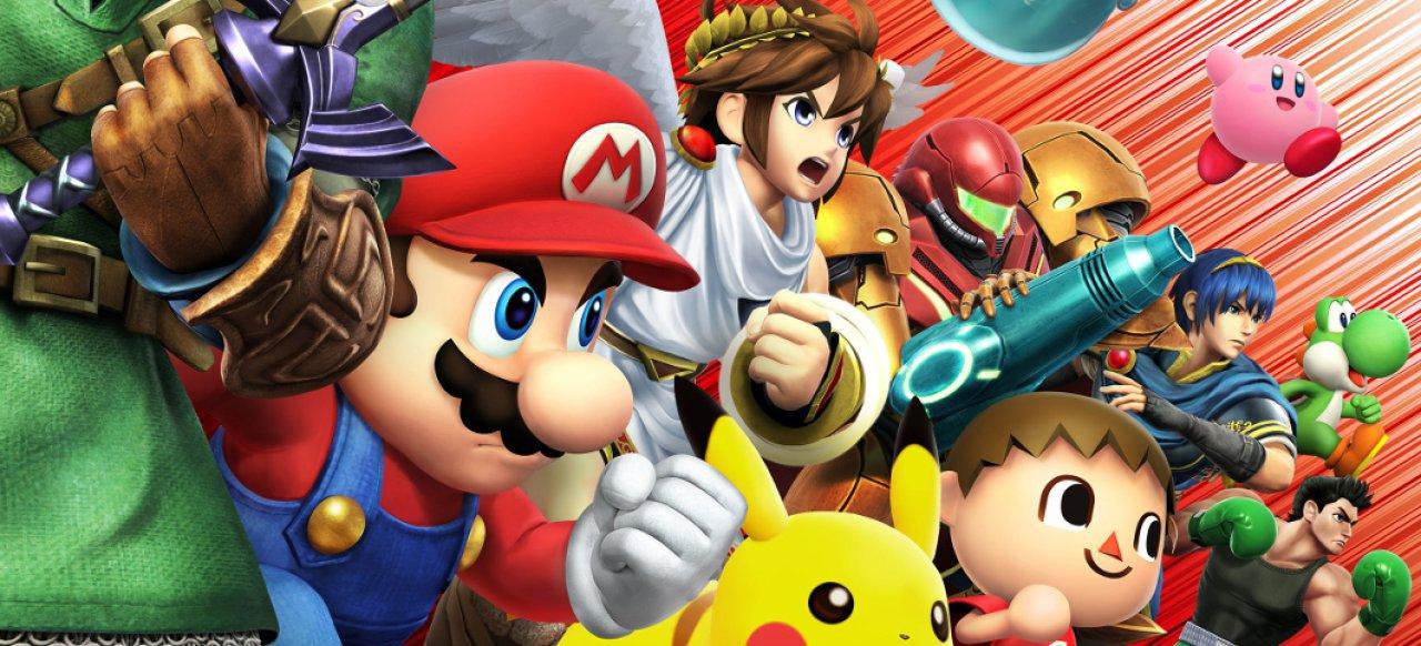 Super Smash Bros.: Fast dauerhaft 60 Bilder pro Sekunde auf beiden ...
