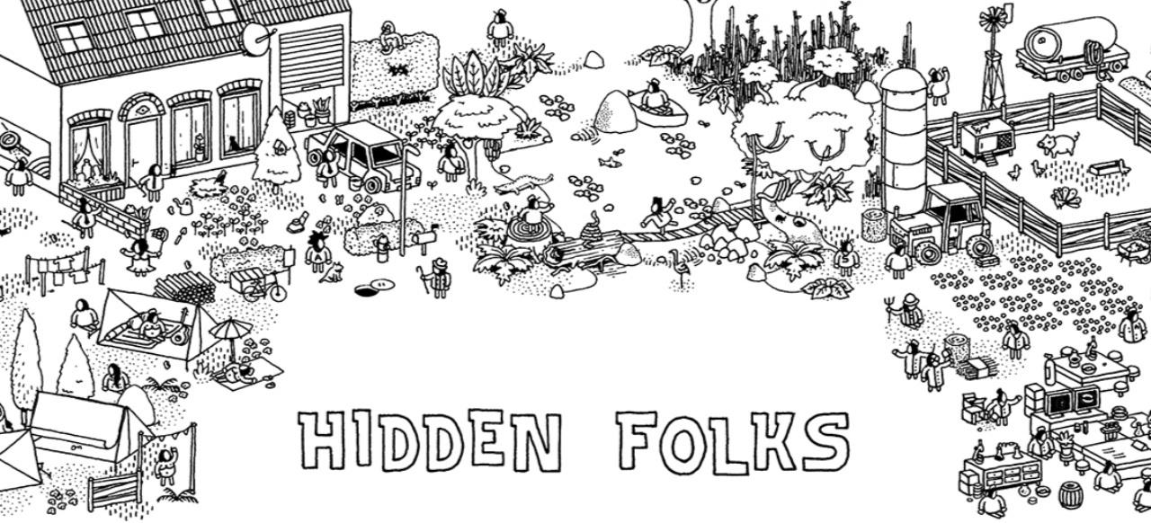 Hidden Folks (Geschicklichkeit) von Adriaan de Jongh