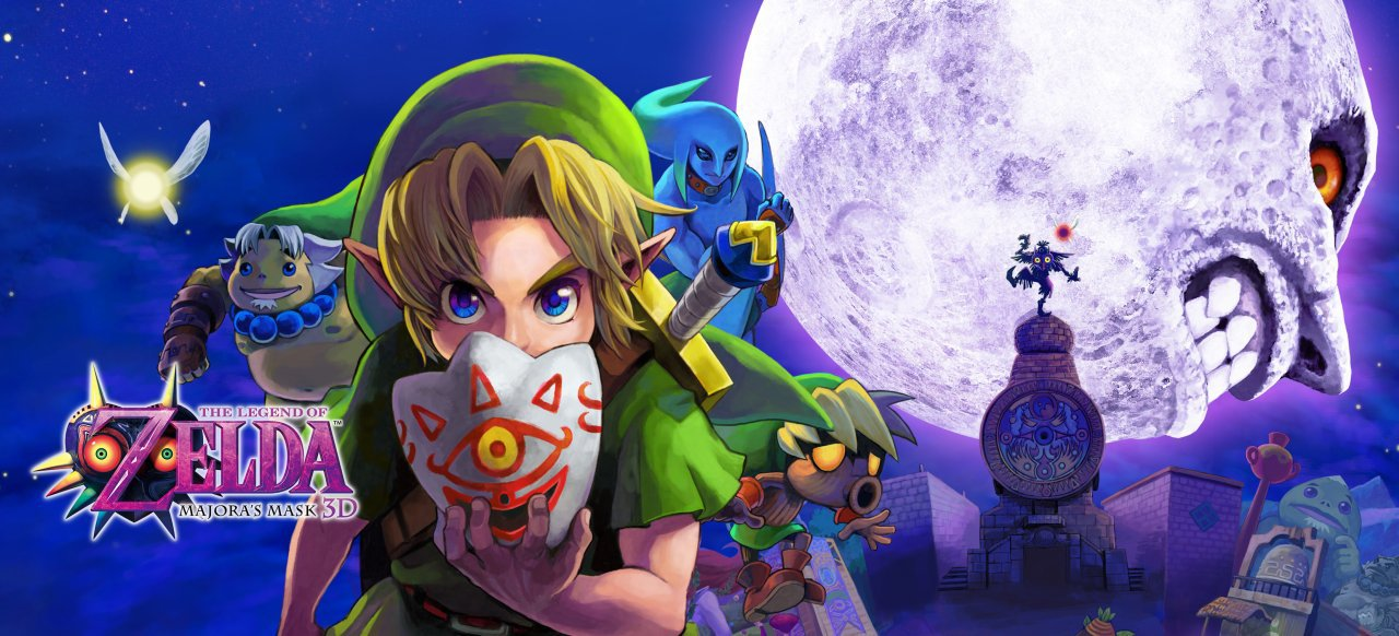 The Legend of Zelda: Majora's Mask 3D (Action) von Nintendo