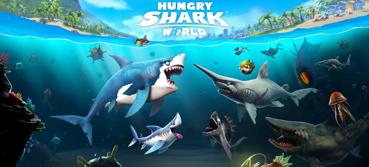 Hungry Shark World (Action) von Ubisoft