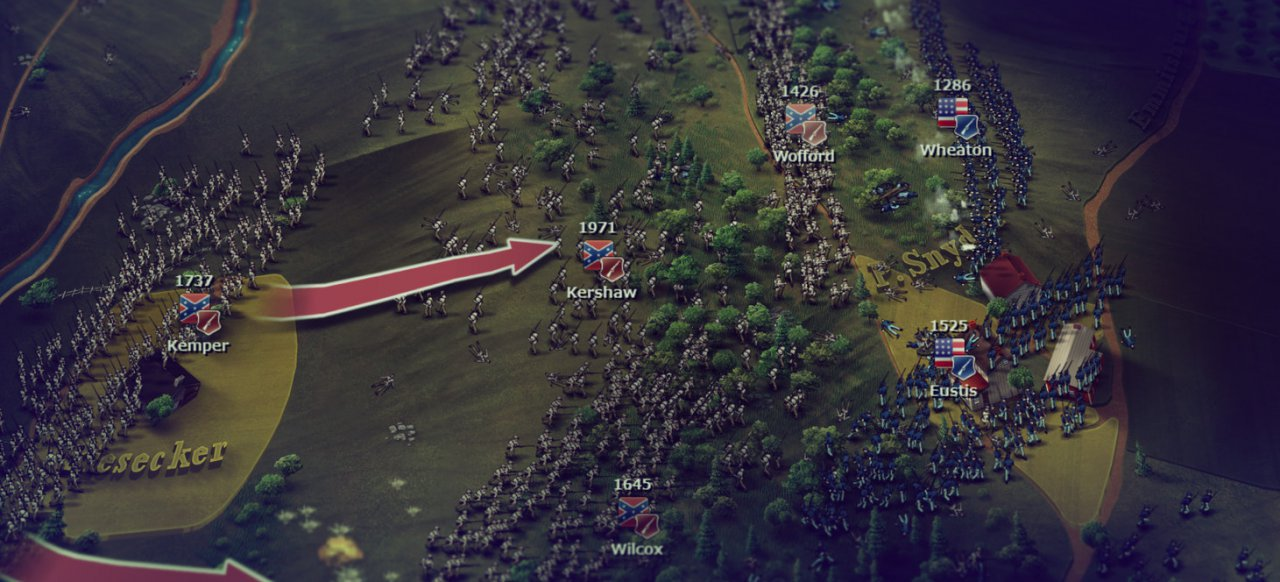 Ultimate General: Gettysburg (Strategie) von Game-Labs