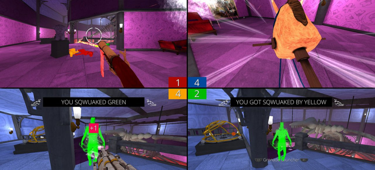 Screencheat (Shooter) von Samurai Punk