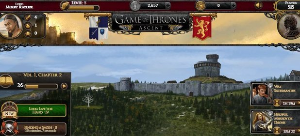 Game of Thrones Ascent (Strategie) von DisruptorBeam