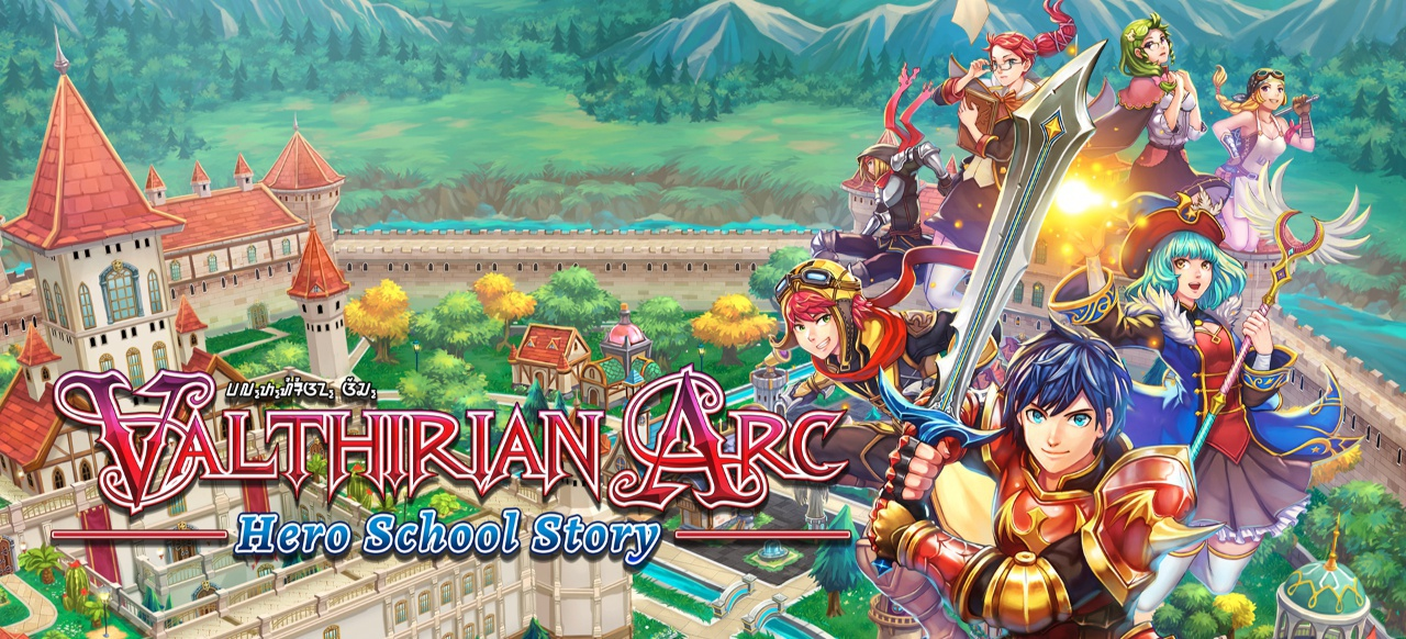 Valthirian Arc: Hero School Story (Rollenspiel) von PQube