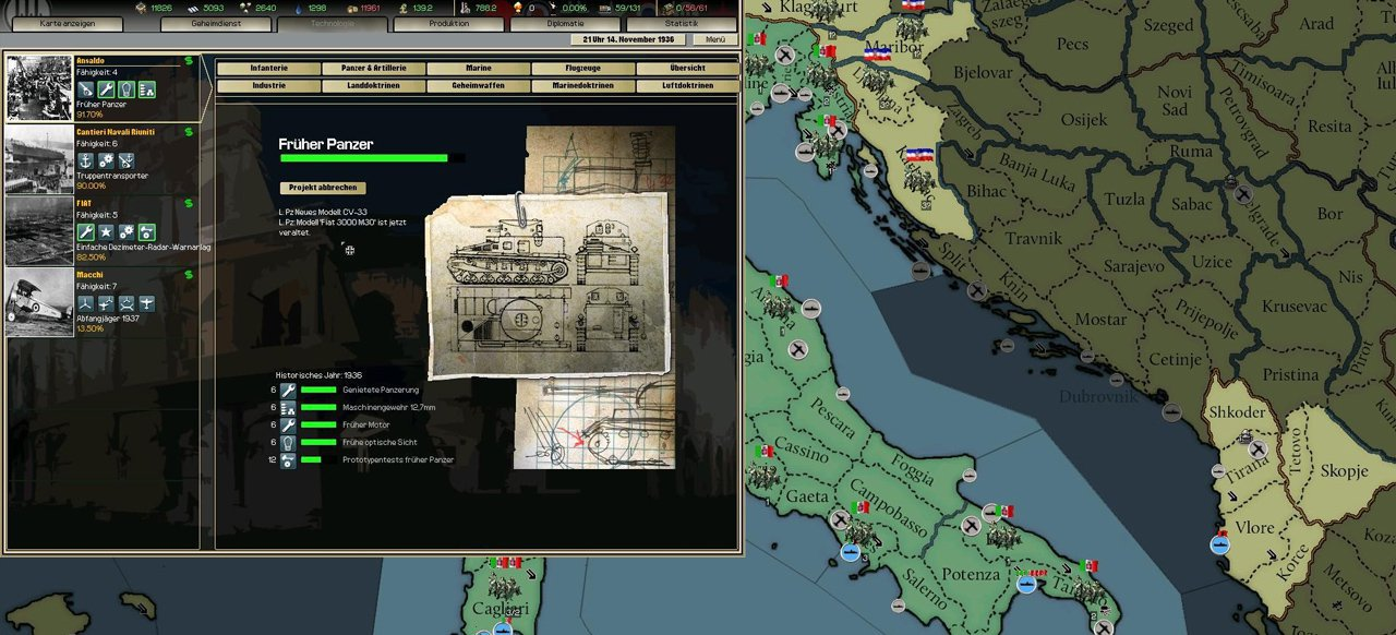Hearts of Iron 2: Darkest Hour (Strategie) von Paradox Interactive