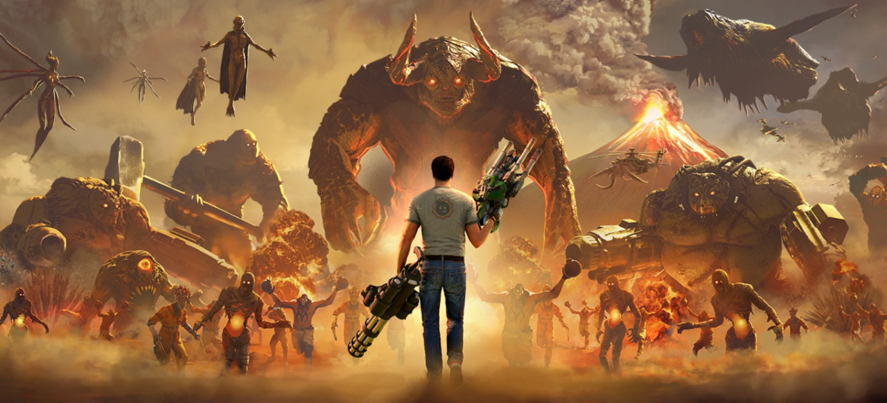 Serious Sam 4: Planet Badass (Shooter) von Devolver Digital