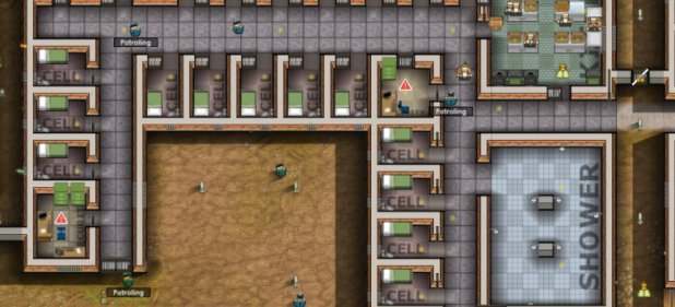 Prison Architect (Strategie) von Introversion Software