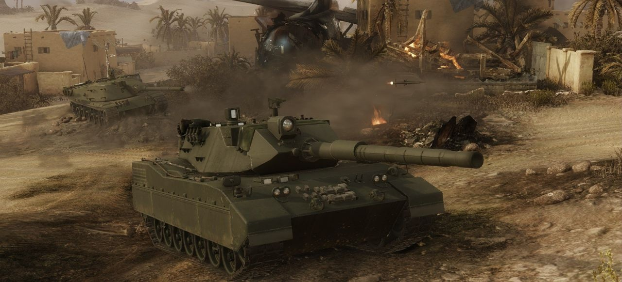 Armored Warfare (Shooter) von My.com