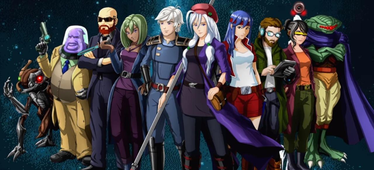Cosmic Star Heroine (Rollenspiel) von Zeboyd Games / Sony
